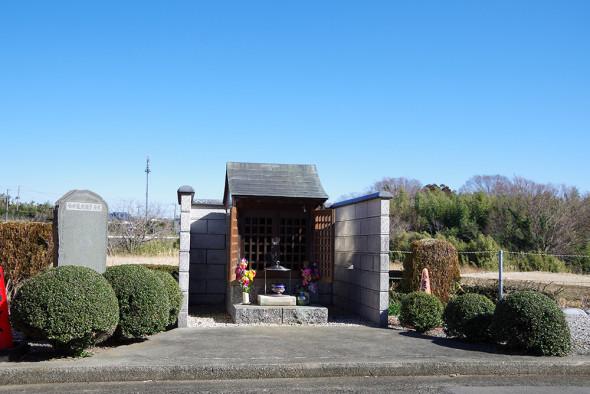 伯母様村観音、石碑