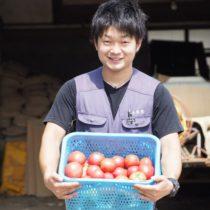 トマト嫌いな子供がトマトを食べられた! <br>という嬉しい手紙が届きました。
